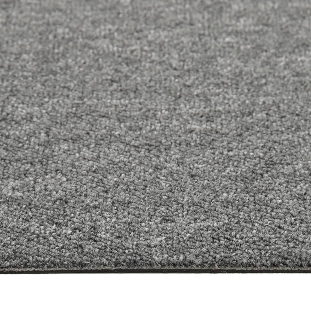 Plăci de pardoseală, 20 buc., gri, 50 x 50 cm, 5 m²