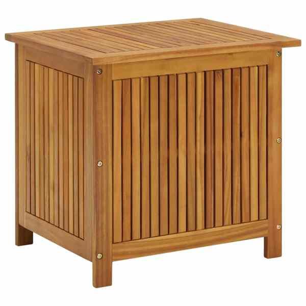 vidaXL Ladă de depozitare grădină, 60x50x106 cm, lemn masiv de acacia