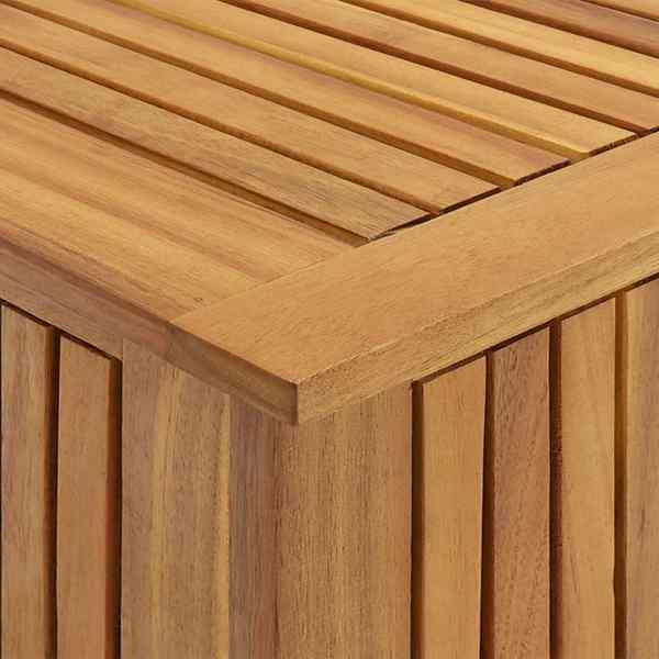 Ladă de depozitare grădină, 60x50x106 cm, lemn masiv de acacia