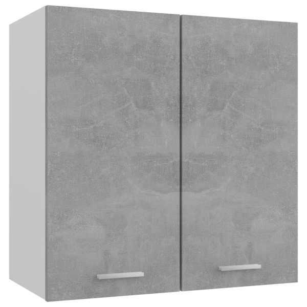 vidaXL Dulap suspendat, gri beton, 60 x 31 x 60 cm, PAL