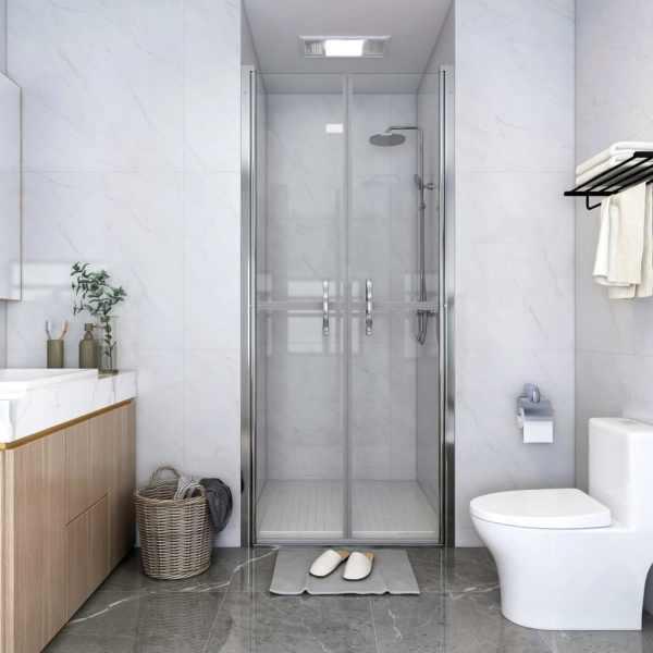 vidaXL Ușă cabină de duș, transparent, 101 x 190 cm, ESG