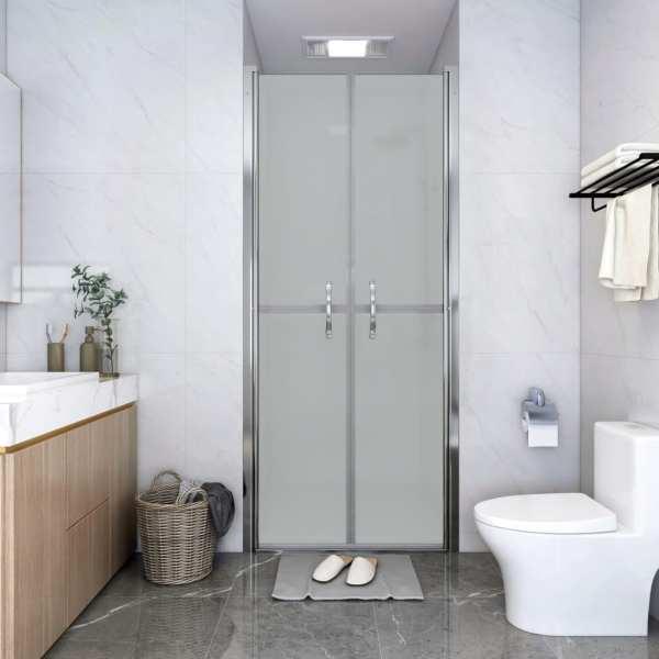 vidaXL Ușă cabină de duș, mat, 91 x 190 cm, ESG