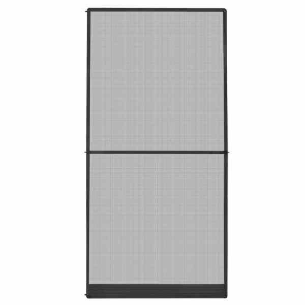 vidaXL Plasă insecte cu balamale pentru uși, antracit, 120 x 240 cm