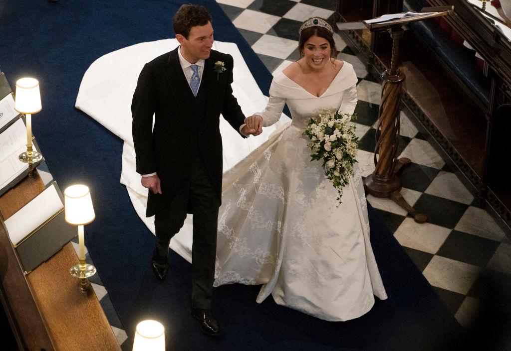 How Princess Eugenie's Wedding Dress Fares When Compared