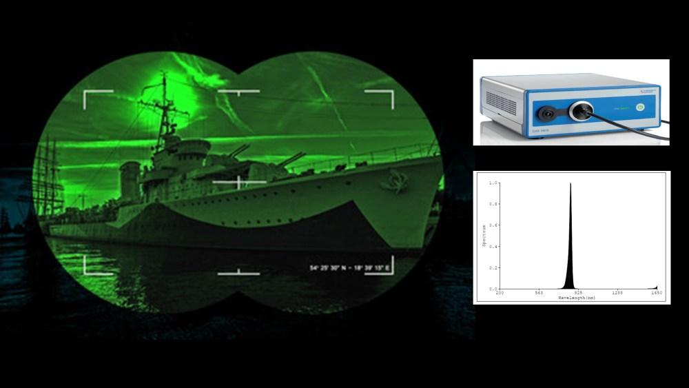 mesure de source infrarouge IR