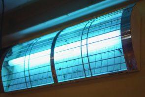 Mesures radiométriques dans l'UV
