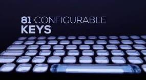 Optique pour clavier à encre numérique