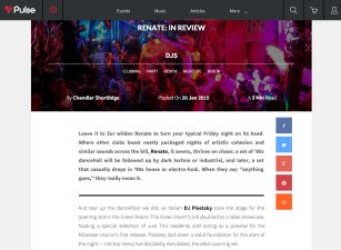 PULSERADIO REVIEW