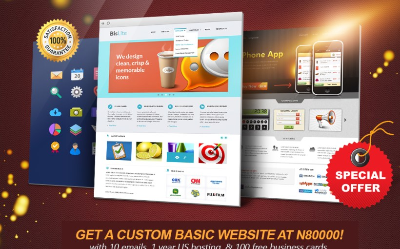 Design your Website for Cheap