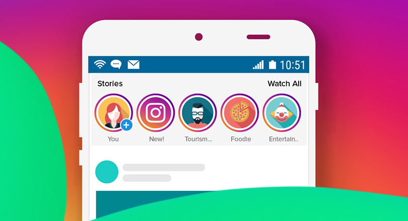 use instagram stories to start an instagram marketing campaign