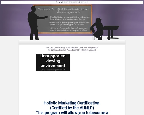 The Holistic Business Marketer Certification Program
