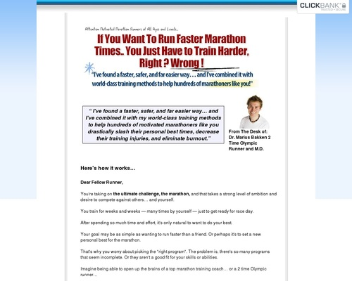 The 100 Day Marathon Plan – Low Ppc, High Payout !