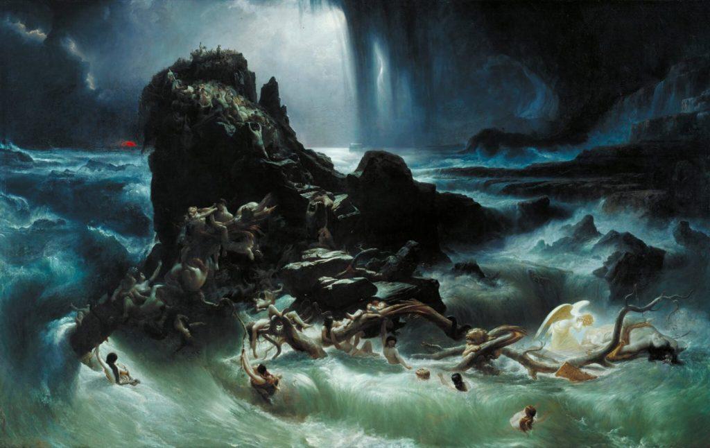 """Katastrofa Francis Danby """"Potop"""""""