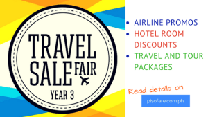 Travel Sale Fair 2017: Go na to avail Promo Fares!!!