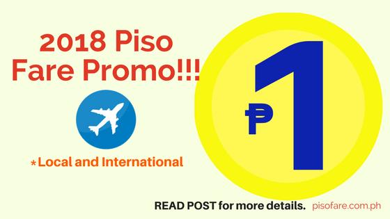 Cebu Pacific Piso Fare June July August September October 2018