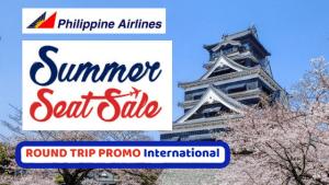 Philippine Airlines ROUND-TRIP International Summer Seat Sale 2018