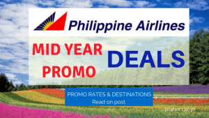 Philippine Airlines MID-YEAR Deals Promo Fare Sale