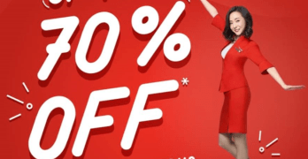 Air Asia Seat Sale Promo up to 70% Discount for 2018 and 2019