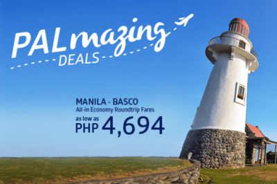 Philippine Airlines BATANES, Coron Palawan and Boracay Promo Fare