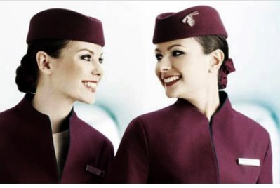 Qatar Airways Job Hiring: Female Cabin Crew Members.