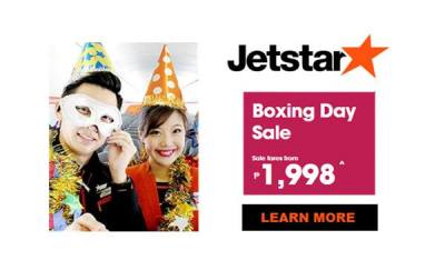 Jetstar 2017 Promos for Japan Nagoya and Singapore