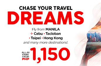 Air Asia Promo Fare for up to November 2017 Flights!!