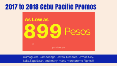 Cebu Pacific Promos dumaguete davao masbate and many more
