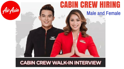 Air Asia All Star Cabin Crew Hiring 2018