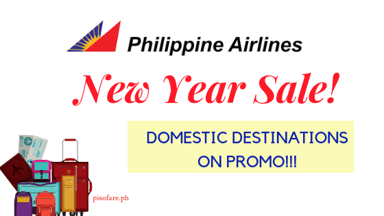 Philippine Airlines promo new year 2019