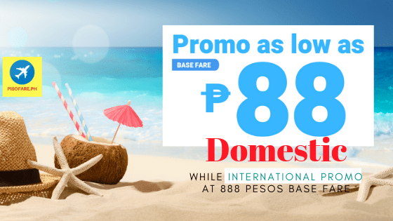 Domestic promo 88 pesos