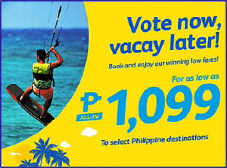 Cebu Pacific Promo June, July, August and September 2016