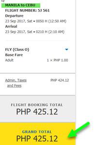Manila-to-Cebu-PIso-Fare-2017
