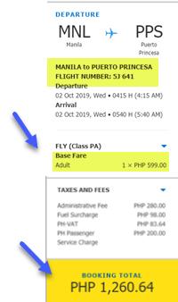 manila-to-puerto-princesa-promo-fare-2019