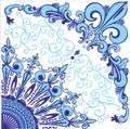 Azulejo 15x15 decoração - Ref -505