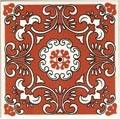 Azulejo 15x15 decoração floral - Ref -500