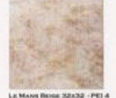 Azulejos e pisos Buschinelli FORA DE LINHA 32X32 LE MANS BEGE