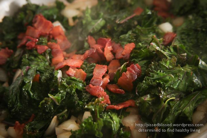Southern Style Kale (3/4)