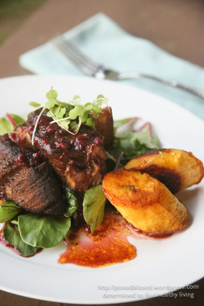 Blackberry Barbecue Short Ribs