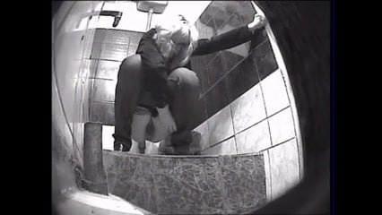 Voyeur filmed girls squatting for a pee