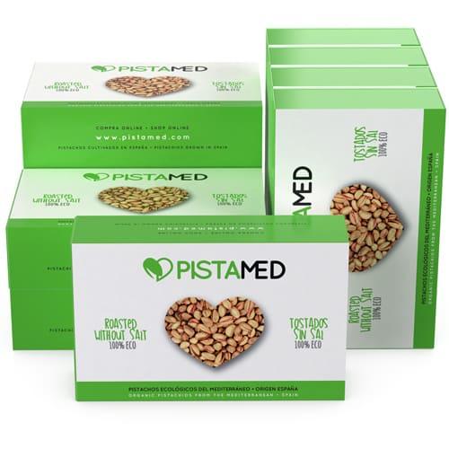10 cajas de pistachos
