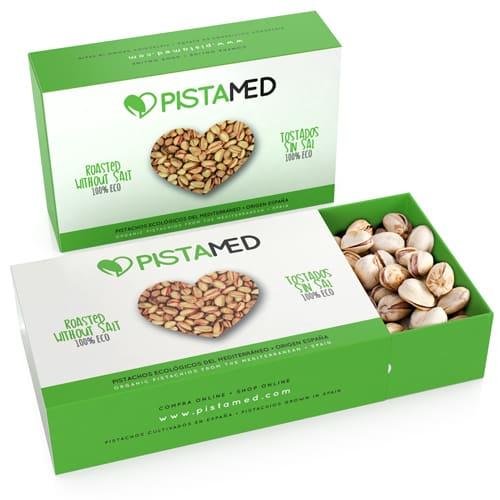 2 cajas de pistachos