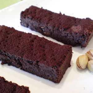 Barritas de chocolate y pistacho