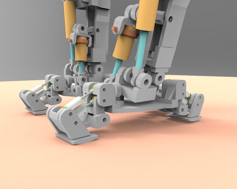 Little Robot Walking stance 2 v1.77