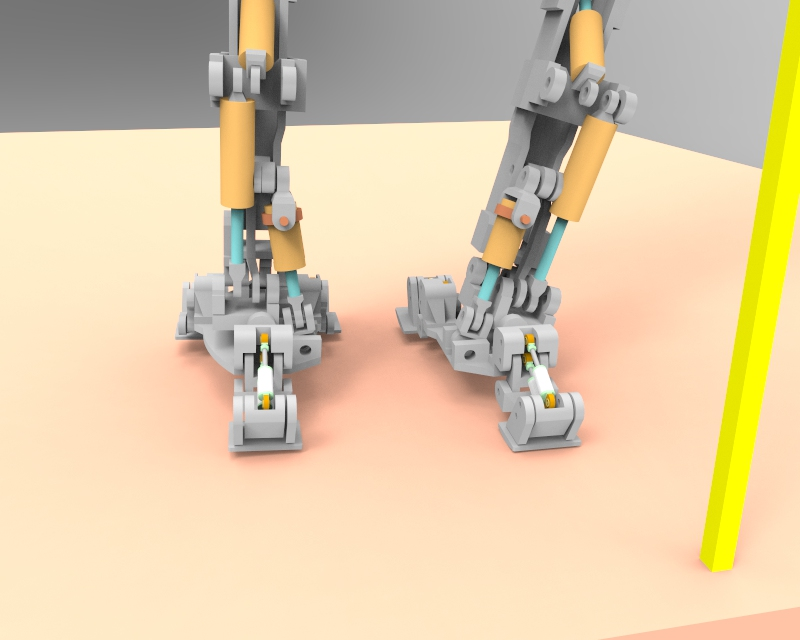 Little Robot Walking stance 2 v1.78