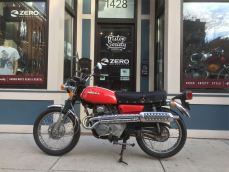 Honda CL175 left side