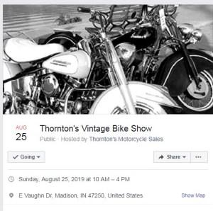 Thorntons Bike Show