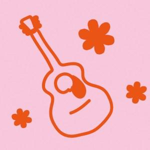 マフラータオル2ギター