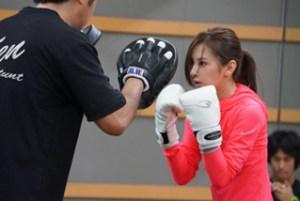 北川景子 キックボクシング