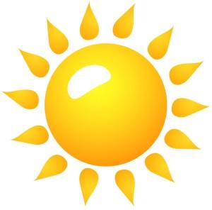 太陽 フリー素材