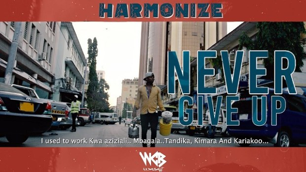 Harmonize Never Give Up video